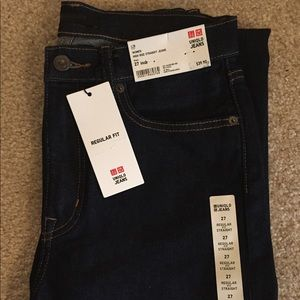 Unilqo High Rise Straight Jeans